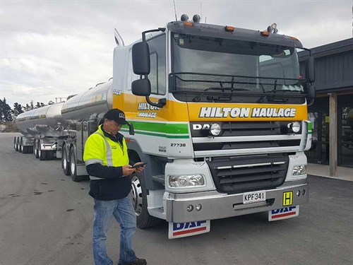 Truck R-app -truck -drivers -Picton -Christchurch