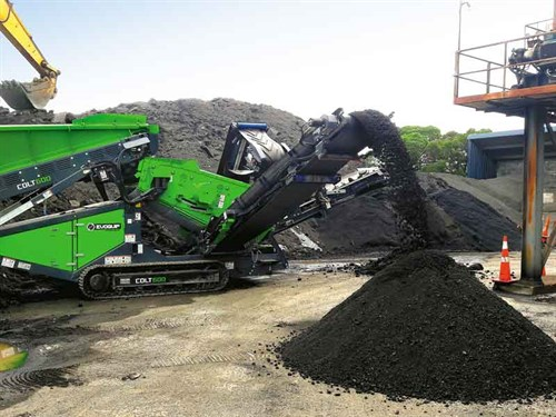 Colt -600-Screening -Asphalt -Millings